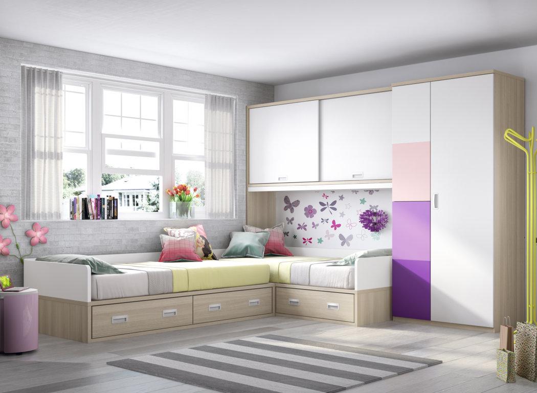 Dise o juvenil mueble juvenil en madrid for Muebles juveniles de calidad